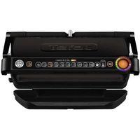 TEFAL GC 7228 Optigrill+ XL Kontaktgrill schwarz, Farbe:Schwarz