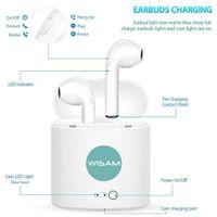 Wireless Bluetooth Kopfhörer - In Ear Kopfhörer für Iphone X/7/8/8Plus/6/6s Samsung 6/7/8/9 , HTC, LG, Sony(Alle Android und IOS Geräte kompatibel)