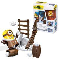 Ich Einfach Unverbesserlich 2 -  Minions Mega Bloks Bau Set Schneeballschlacht