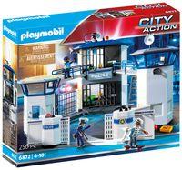 PLAYMOBIL City Action 6872 Polizei-Kommandozentrale mit Gefängnis