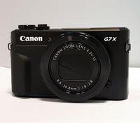 Canon PowerShot G7 X Mark II, 20,1 MP, 5472 x 3648 Pixel, CMOS, 4,2x, Full HD, Schwarz