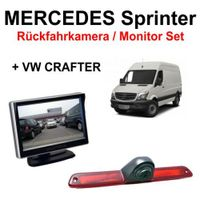 Rückfahrkamera / Monitor Set für Mercedes Sprinter VW Crafter