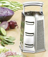 6 Kant Küchenreibe Gemüsereibe Reibe Mehrzweckreibe Rende