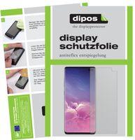2x Samsung Galaxy S10 Plus Schutzfolie matt Displayschutzfolie Folie Display