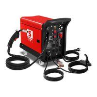 Stamos MIG/MAG Schweißgerät - 195 A - 230 V - 4 Räder
