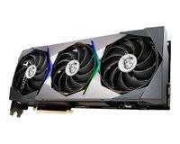 MSI GeForce RTX 3080 SUPRIM X 10G, GeForce RTX 3080, 10 GB, GDDR6X, 320 Bit, 7680 x 4320 Pixel, PCI Express x16  (LHR)