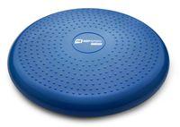 Hop-Sport Ballsitzkissen 34cm Durchmesser - Balance-Kissen mit/ohne Noppen beidseitig verwendbar - blau