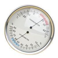 Hochwertig Thermometer Hygrometer / Temperatur Hygrometer mit Schraubenschlitz und Klappbaren Halterung