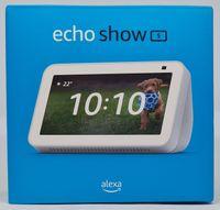 Amazon Echo Show 5, 2. Generation (2021) Smart Display mit Alexa, 2-MP-Kamera - Weiß