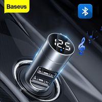 Baseus Bluetooth 5.0 FM AutoTransmitter  USB Ladegerät Kfz-Empfänger Adapter Auto Wireless transmitter MP3