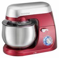 CLATRONIC Küchen-/Knetmaschine KM 3709 incl. transparentem Spritzschutzdeckel mit Nachfüllöffnung