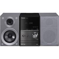 Panasonic SC-PM602 - Heim-Audio-Mikrosystem - Silber - 1 Disks - 40 W - 2-Wege - 6 Ohm