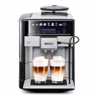 Siemens EQ.6 plus TE657313RW, Espressomaschine, 1,7 l, Kaffeebohnen, Eingebautes Mahlwerk, 1500 W, Schwarz, Silber