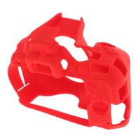 1 Stück Silikonhülle für Nikon D5500, D5600 rot wie beschrieben Tragen / Umhängetaschen