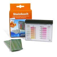 """Steinbach Testkit für pH-Wert und freies Chlor, je 10 Tabletten mit """"STEINBACH"""" Logo, geblistert"""