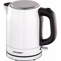 CLOER 4511 Edelstahl-Wasserkocher weiß, Farbe:Weiß