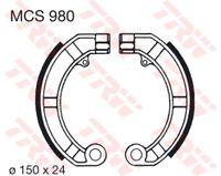 Lucas Bremsbacken Set MCS980