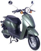 Elektro-Roller E2Go, Farbe Matt-Grün