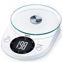 Beurer Küchenwaage KS 33 5 kg Weiß
