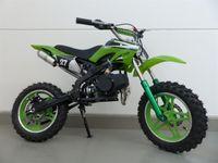 RV-Racing Pocketbike Dirtbike Pocket Cross Bike Kindercross Crossbike Grün