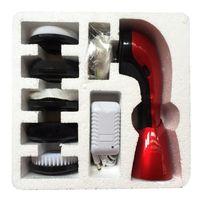 Elektrische Schuhputzbürste zum Reinigen von Lederschuhen Farbe rot