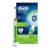 Oral-B Pro 600 Cross Action green