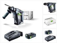 Festool  BHC 18 Li Basic Akku Bohrhammer 18V ( 574723 ) 25Nm Brushless im Systainer +  1x 3,1Ah Akku + Ladegerät