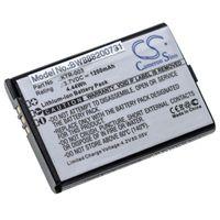 vhbw Akku passend für Nintendo MWH710A01, New 3DS, NN3DS Spielekonsole (1200mAh, 3.7V, Li-Ion)