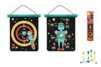 Scratch magnetisches Dartspel 40 x 31 cm Roboter