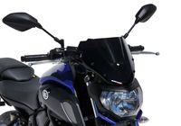 ERMAX Naked-Bike-Scheibe Sport schwarz getönt MT-07 RM17/RM18