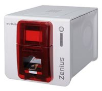 Evolis Zenius Classic Line, Farbstoffsublimation/Wärmeübertragun, 300 x 300 DPI, Code 128 (A/B/C),Code 39,EAN13,Interleaved 2/5, 500 Karte/h, 150 Karte/h, 53,98 x 85,60 mm