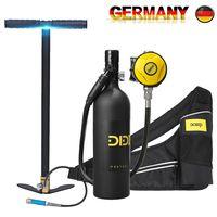 DIDEEP SCUBA 1L Tauchausrüstung Sauerstoffflasche Unterwasseratemgerät & Tasche
