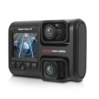 Dash Cam Driving Recorder Tragbarer 1080P HD 360 ¡ã WiFi-Schwerkraftsensor Aufnahme der Nachtsichtschleife vorne und hinten