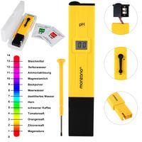 Digitale Wassertester mit LCD Anzeige + Batterie, Variante:PH Messgerät