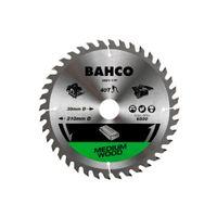 Bahco 16-Zähne Kreissägeblätter mit hartmetallbestückten, mittelgroben Zähnen für Arbeiten in Holz 1