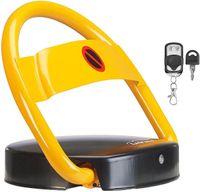 Lescars automatischer Parkplatzwächter Parkplatzsperre mit Akku & Fernbedienung Schranke Parkplatz Absperrung