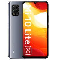 Xiaomi Mi 10 Lite 5G Handy Smartphone 128GB 6GB Dual-SIM 6.57 Zoll Cosmic Gray/Grau Ohne Simlock