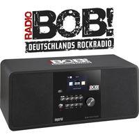 BOBs ROCK RADIO Internet- und DAB+ Digitalradio Sonderedition, Farbe:schwarz