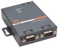 Lantronix Device Server UDS2100 Two Port Serial (RS232/ RS422/ RS485) to IP Ethernet - Geräteserver - 2 Anschlüsse - 10Mb LAN, 100Mb LAN, RS-232, RS-422, RS-485