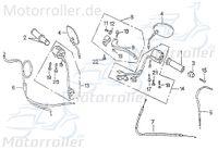 Lenkerarmatur links Schaltergehäuse rechts 62930-CHP-00