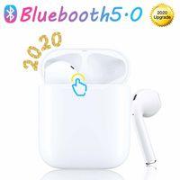 Bluetooth 5.0-Kopfhörer, Mini-Wireless-Kopfhörer, integriertes Mikrofon und Ladetasche, 3D-HD-Stereo-Rauschunterdrückung, für Apple Airpods Pro / Android / iPhone-Kopfhörer
