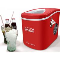 SALCO Coca Cola Retro SEB-14CC Eiswürfelbereiter rot