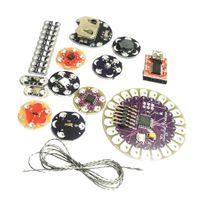 Lilypad Arduino Kit Tragbare, Abnehmbare Elektronik Leds Suite ATmega328P