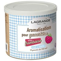 LAGRANGE 380370, Natürliche Aromen, Puder, 140 ml, Himbeere, 425 g, 1 Stück(e)