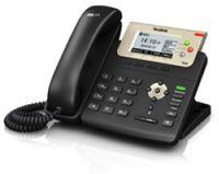 Yealink SIP-T23G - Schwarz - Kabelgebundenes Mobilteil - Digital - Tisch/Wand - LCD - 132 x 64 Pixel