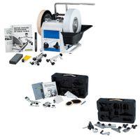 Tormek Nass-Schleifmaschine T8 Schärfsystem Schleifmaschine + HTK806 + TNT808