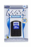 PS2 Memory Card 32MB Max Sonder Edition Incl. 10 PS-2 Retro Games