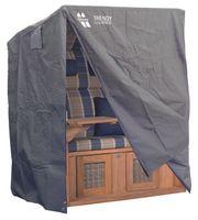 Strandkorbhülle Classic von deVries (LxBxH - 128cm x 95cm x 165cm/140cm)