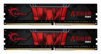 G.Skill Aegis F4-3200C16D-32GIS - 32 GB - 2 x 16 GB - DDR4 - 3200 MHz - 288-pin DIMM