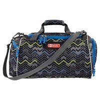 Step by Step Kinder Sporttasche mit Nassfach Reise Tasche Sportsbag, Farbe:Strongly Robot